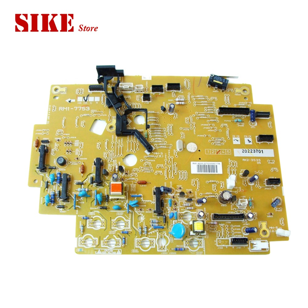 RM1-7753 DC Control PC Board Use For HP CP1025 CP1025nw 1025 1025nw HP1025 DC Controller Board mr1 2656 mr1 2651 rm1 4098 dc control pc board use for hp 5200 5200lx 5200l 5200n 5200tn 5200dtn dc controller board