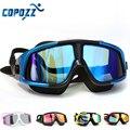 Очки для плавания COPOZZ  удобные силиконовые плавательные очки с большой оправой  антизапотевающие УФ-очки для мужчин и женщин  водонепроница...