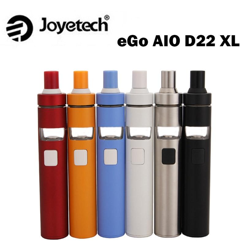 Joyetech eGo AIO D22 XL Vape Kit 2300mah Internal Battery 4ml Tank ego aio XL All-in-one E-cigarette Kit Vs Ijust s Kit