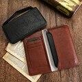 Kisscase cartera de cuero del teléfono case para iphone 5 6 6 s 7 plus bolso cubierta para samsung s7 s8 s8 borde a5 j5 para huawei p9 p8 Lite