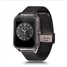 Hestia smart watch z50 bluetooth smartwatch twitter facebook benachrichtigung metallband für iphone android