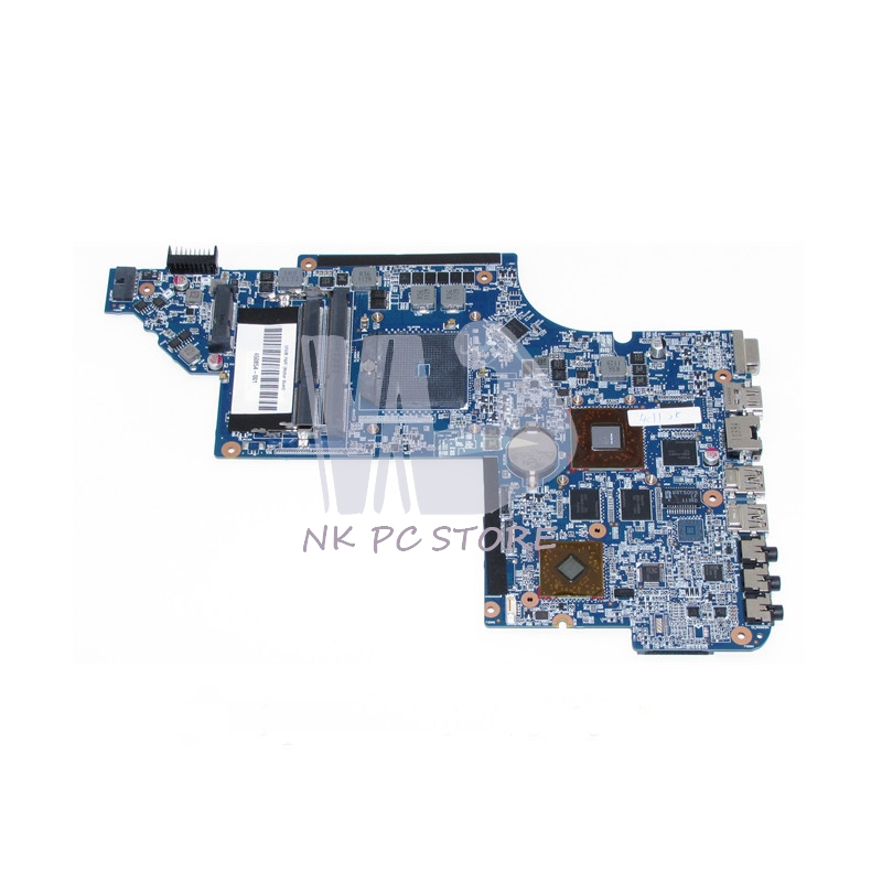 650854-001 Main Board For Hp Pavilion DV6 DV6-6000 Laptop Motherboard Socket fs1 DDR3 ATI HD6750 1GB for hp pavilion dv6 6000 notebook dv6z 6100 dv6 6000 laptop motherboard 650854 001 main board ddr3 hd6750 1g 100