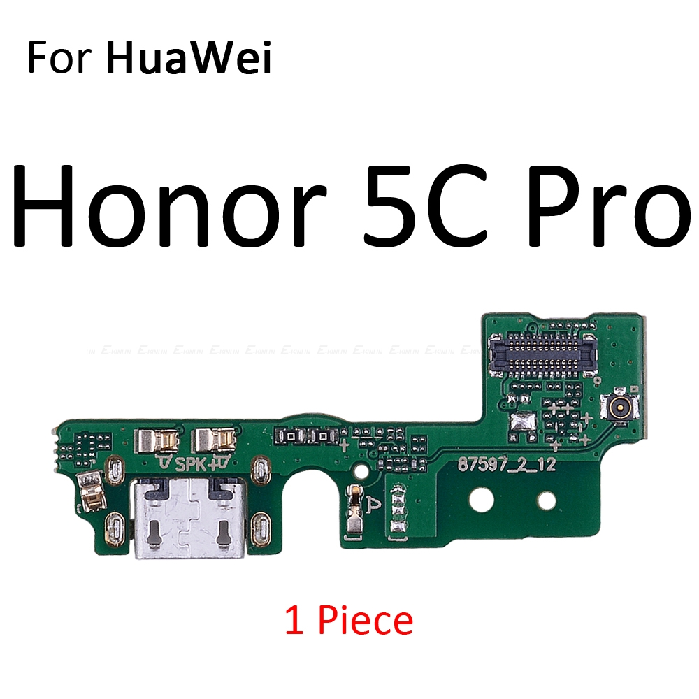 Image 5 - Charging Port Connector Board Parts Flex Cable With Microphone Mic For HuaWei Honor Play 8A 7A 7C 7X 7S 6A 6C 6X 5C Pro-in Mobile Phone Flex Cables from Cellphones & Telecommunications