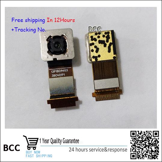 Original voltar câmera traseira para htc one m7 801 802 grande módulo da câmera de lente principal flex cable 13p1bca403 testado