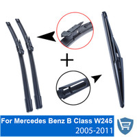 Front And Rear Wiper Blade No Arm For Mercedes Benz B Class W245 2005 2011 High