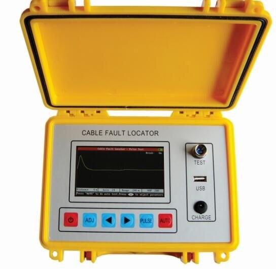 Haute Qualité Cable Fault Locator TDR 8 km Intelligente Électrique Pont Multimètre USB Port ST620