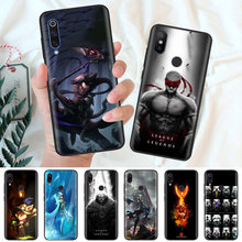 Preto Silicone Case Capa Bag para Xiao mi mi A1 A2 8 Lite Jogar mi Vermelho Nota 7 6 6A 5 Plus 4X Pro Poco F1 Core lol League of Legends(China)