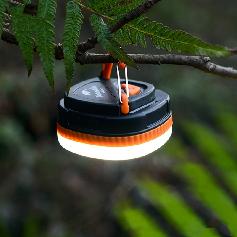 Outdoor Portable Camping Lantern Waterproof LED Light USB Rechargeable Tent Lamps Home Emergency Lights