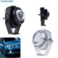 2 Шт. Водонепроницаемый Автомобиля DRL LED Орлиный Глаз Свет 10 Вт Теплый/холодный Белый Автомобилей Туман Дневного Света Обратный Резервного Копирования для Парковки Лампы