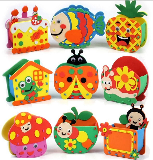 Online buy wholesale kids craft kits from china kids craft for Craft kits for kids in bulk