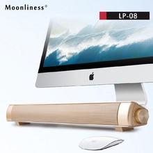 Moonliness оригинальный Беспроводной спикер Soundbar Портативный bluetooth динамик 3D Hi-Fi стерео музыку объемного с микрофоном Super Bass
