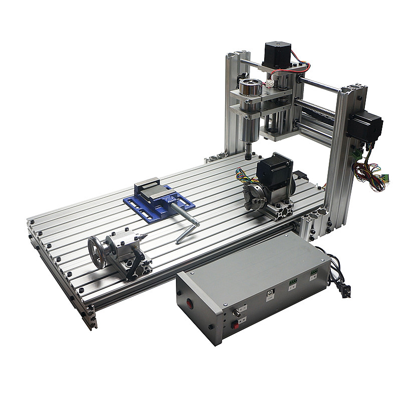 где купить CNC Router Woodworking Machine 3 axis 4 axis CNC 6030 Engraving Cutting Machine 400W USB port Support Win 8 Win 10 дешево