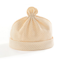 Newborn Baby Hat Organic Cotton Cool Color Empty Top Summer Maternal and Child Supplies