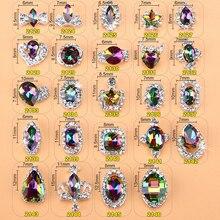 10pcs/pack 1-5 # nail polish accessories wholesale alloy Nails Art Glitter Jewelry Rhinestones for Nail Studs #qjmy1688