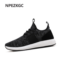 Summer Trainers Men S Shoes Flat Shoes Walking Casual Soft Breathable Mesh Zapatillas Deportivas Spring Lace