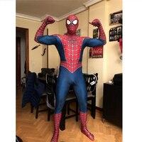 Anime Sam Raimi The Spider Man 3 Cosplay Costumes Men Women SpiderMan Zentai Lycra Spandex Jumpsuits Bodysuits New 2019