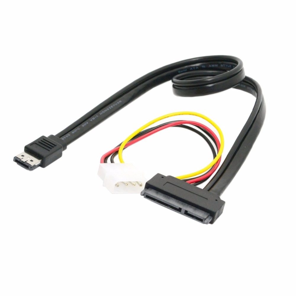 SATA+USB combo DUAL Power ESATA +4pin IDE Power to SATA 22P/ 7+15pin HDD 5V 12V for 3.5 2.5 Hard Disk Female Cable sata usb combo dual power esata 4pin ide power to sata 22p 7 15pin hdd 5v 12v for 3 5 2 5 hard disk female cable