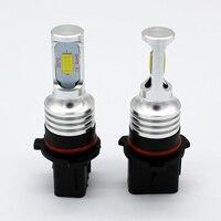 2pcs Error Free Canbus High Power White P13W 72W CSP LED Bulbs For Car Mazda CX