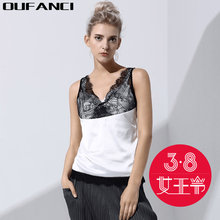 2017 Spring Summer Sexy Elegant Lace Camis Top Short Style Crop Top Embroidery Spliced Lace Halter Tops Black White Top female