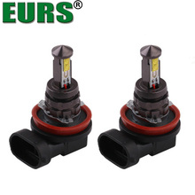 EURS NEW Motorcycle Fog Lights LED Headlight Bulbs Turn Signal lights 20W H4 9005 9006 H8/H11 H7 Upgrade Lamps Super Bright