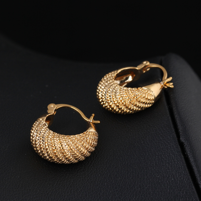 Summer Style Fashion Gold Earring Cc Simple Design Fine Jewerly Small Hoop Earrings For Women In From Jewelry Accessories On Aliexpress