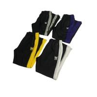 AWGE Butterfly Embroidery Sweatpants AWGE X NEEDLES Trousers Multicolor Ribbon Men Vintage Sweatpants Cotton Buckle Pantalettes
