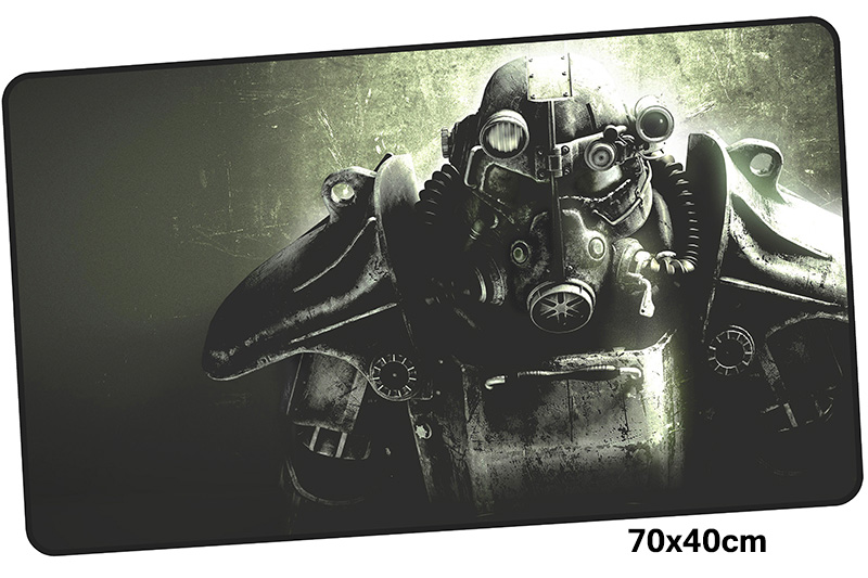 fallout mousepad gamer 700x400X3MM gaming mouse pad large locked edge notebook pc accessories laptop padmouse ergonomic mat
