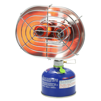 BRS Outdoor Heater Double Head Outdoor Heater Portable Infrared Ray Camping Heating Stove Warmer Heating Gas Stove