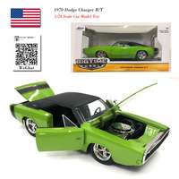 JADA 1/24 Scale BIGTIME Muscle USA 1970 Dodge Charger R/T Diecast Metal Vintage Car Model Toy For Collection,Gift,Kids