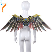 2019 New Burning Man Carnival Party Unique Adult Decoration Steam Punk Wings Costume Steampunk Accessories anime cosplay
