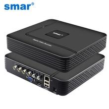 CCTV Mini DVR 4 Channel 1080N Digital Video Recorder 8CH 960H 15FPS Hybrid DVR  H.264 Security Surveillance P2P VGA HDMI Output