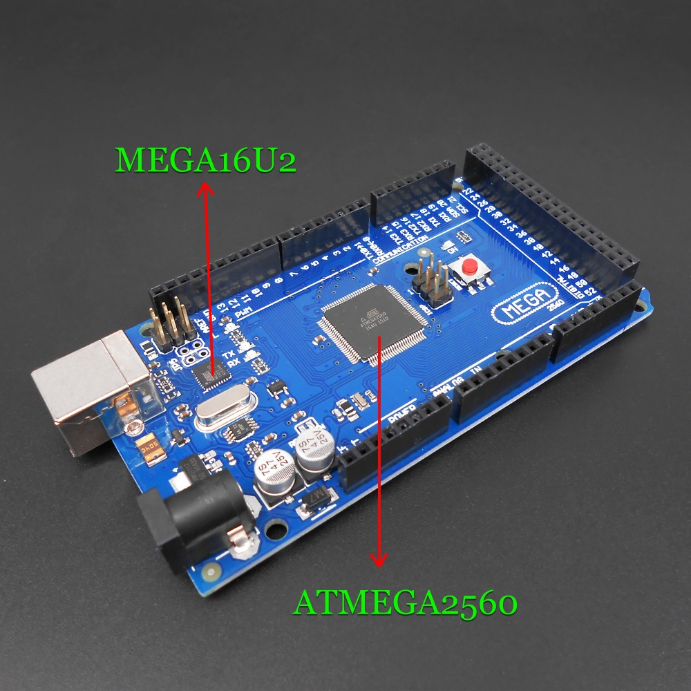 Adeept New ATmega2560 ATMEGA-16U2 MEGA 2560 R3 Board + - Разумная электроніка - Фота 3