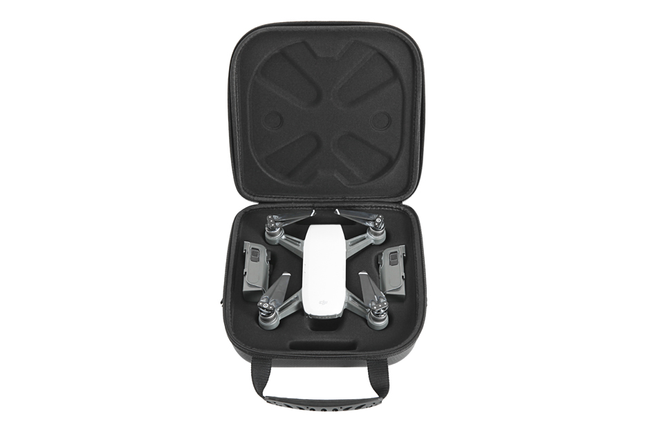 DJI Spark Small Portable Shoulder Waterproof Bag with 3D Sensor System Screen Cover and Battery Protector Silicone Cover