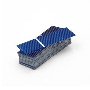 Image 5 - 50 шт./лот x поликристаллические силиконовые панели солнечных батарей Painel DIY зарядное устройство Sunpower Солнечный борд 52*19 мм 0,5 В 0,16 Вт