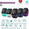 Pulseira inteligente A88 Moda Esporte Smartband Ativamente Do Bluetooth 4.0 Monitor de Freqüência Cardíaca à prova d' água Rastreador De Fitness Monitor de Sono