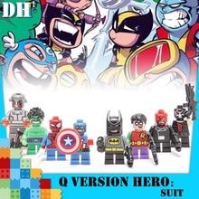building blocks Assassins Creed Seven Dragon Ball Avengers 3 New Infinite War Iron Man Digital Childrens Toys Gift
