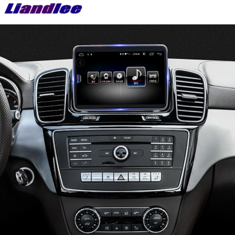 For Mercedes Benz MB GLE M ML Class W166 2015~2018 Liandlee Car Multimedia Player NAVI Car Radio Accessories GPS Navigation 2