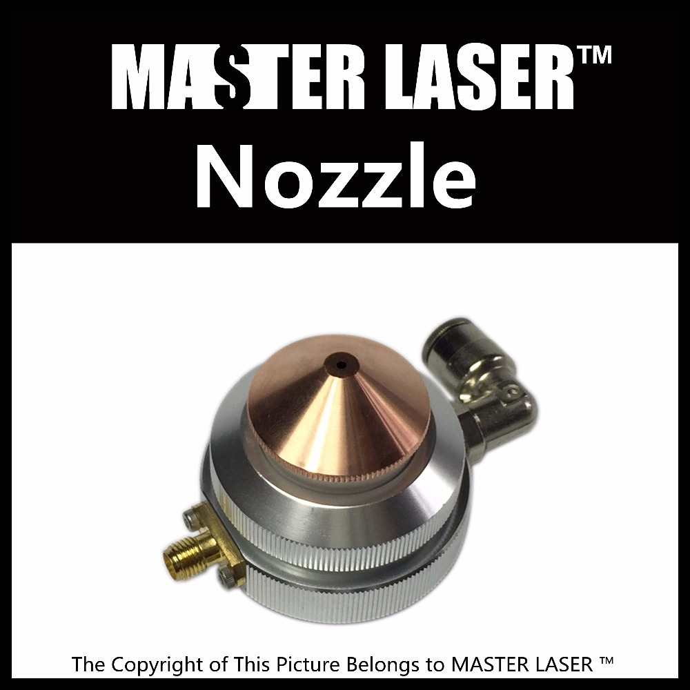 CO2 Laser Mixed Laser Cutting Machine Laser Head Nozzle Holder for High Power CO2 Cutting Machine CO2 Laser Nozzle the rail of laser machine 1490 include belt bear wheel motor motor holder mirror holder tube holder laser head etc