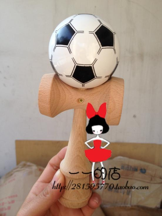 TWB retail Professional racing tips ball ball football 4 colors head the ball over three off kendama Handle optional