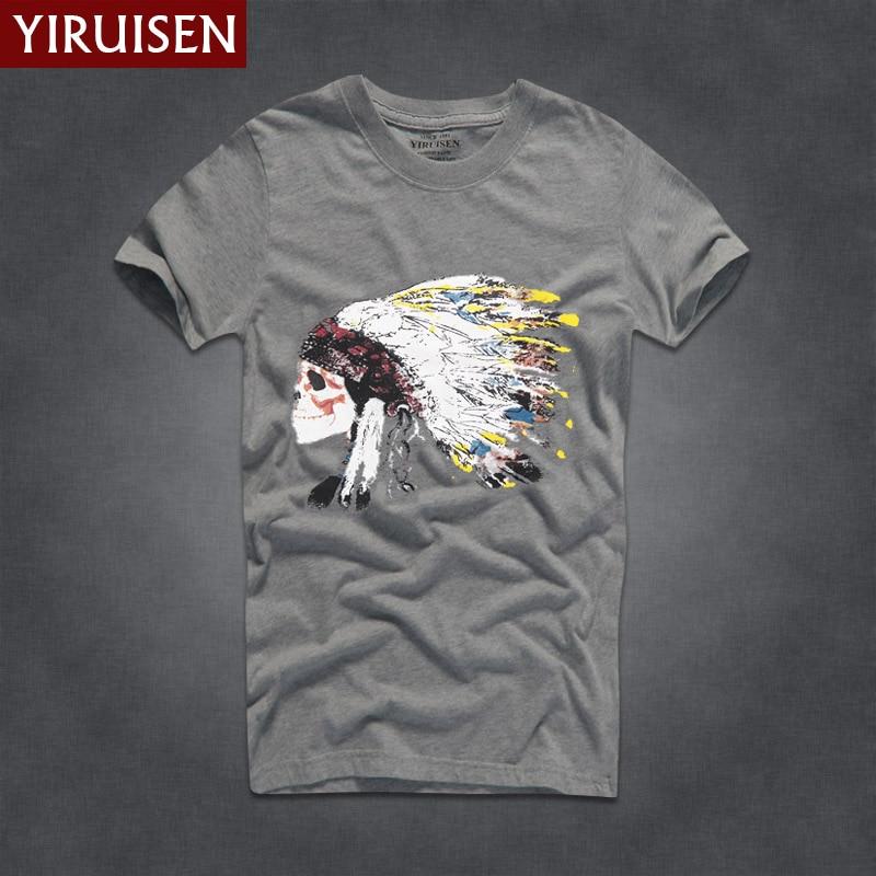 Mens T Shirts Fashion Yiruisen Brand Men Short Sleeve T Shirt Men Casual 100% Cotton Tshirt Tops Camisetas Hombre Camisa #3