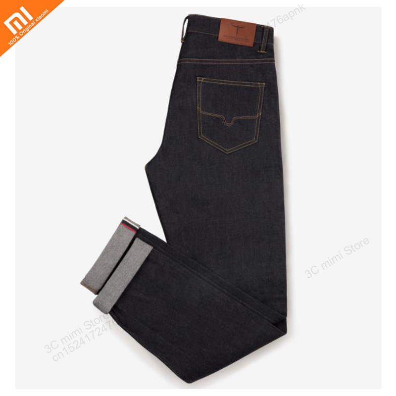 2018 new millet DMN classic red ear straight leg jeans high quality summer men s casual