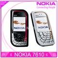 Reformado teléfono móvil original de nokia 7610 buena calidad bajo precio teléfonos celulares envío libre