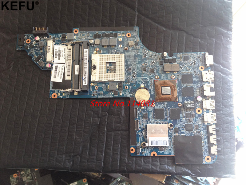 665341-001 Fit for HP pavilion DV6 DV6-6000 Laptop Motherboard HM65 2GB suport i3 i5 cpu 650800 001 fit for hp dv6 dv6 6000 laptop motherboard hm65 100% tested working
