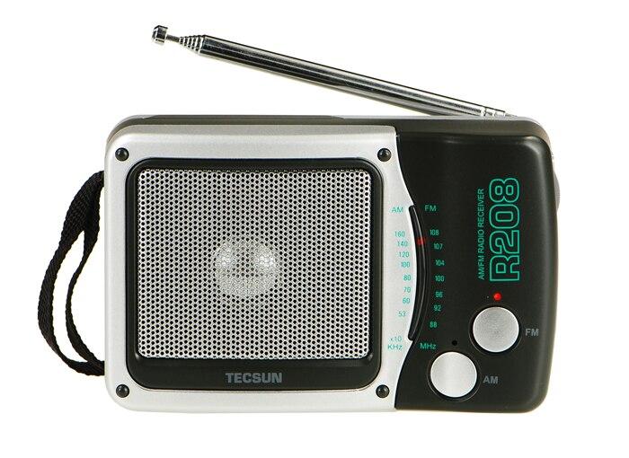 Tecsun R-208 Kleine Desktop Fm/am 2 Band Tragbare & Durable Radio R208 Radio Empfänger Hohe Empfindlichkeit Radio Vs Degen Radio Tragbares Audio & Video
