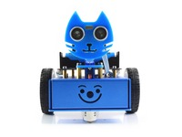 KitiBot starter 2WD robot building kit smart car with controller BBC micro:bit for learning programming exploring robotics