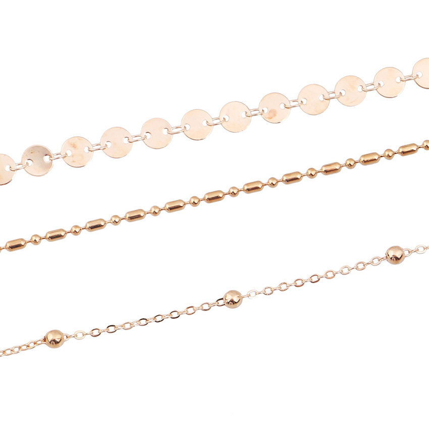Simple Gold Choker Necklace For  Boho Coin Chocker Necklaces Multi layer colar collier ras du cou  gargantilha bijoux 1