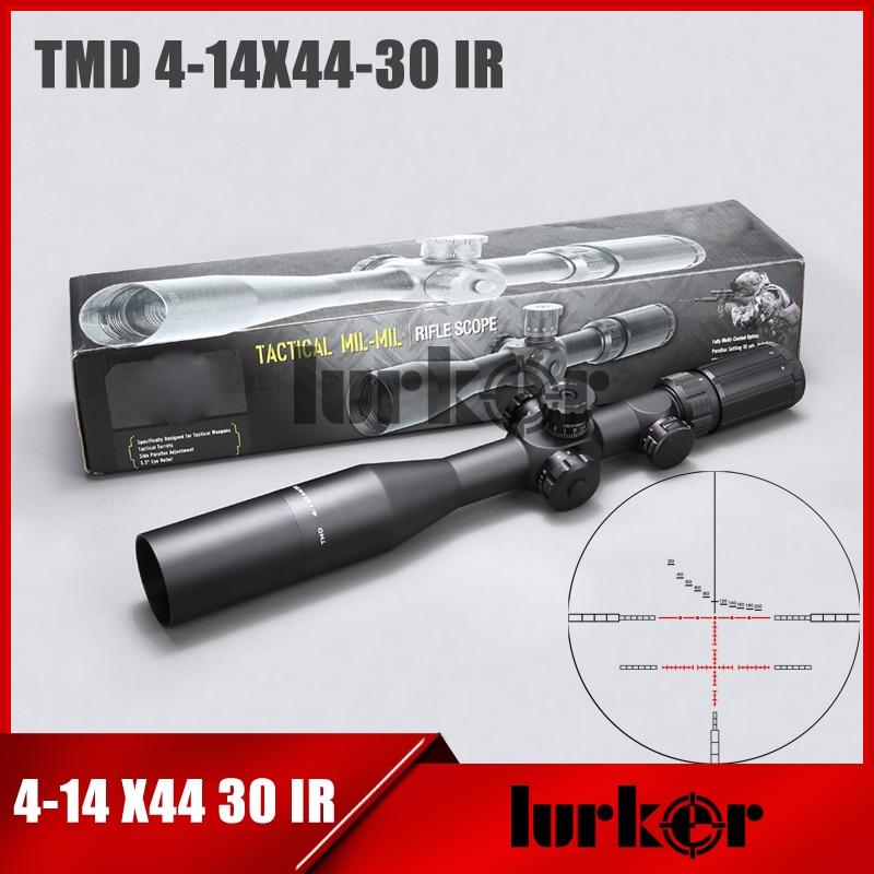 Tactical Air Gun TMD 4 14X44 SFIR First Focal Plane Scope Side Parallax Riflescope Optical Rifle Scope For Air Rifle Hunting