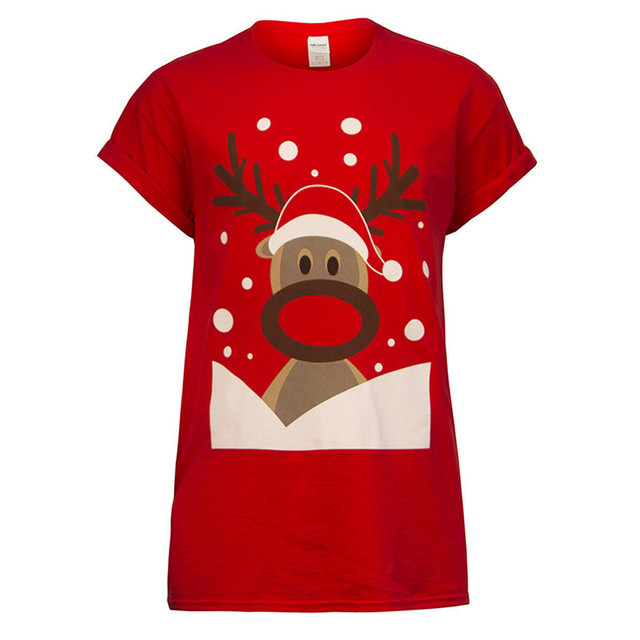 Christmas Tops.Us 8 05 21 Off Summer Christmas Tops Tee Ladies Short Sleeve T Shirt Women T Shirt Woman Clothes Plus Size S Xxl In T Shirts From Women S Clothing