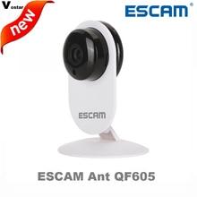 ESCAM Ant QF605 3.6 мм Объектив мини беспроводная ip-камера поддержка WI-FI/ONVIF двухстороннее аудио с motion detection поддержка Электронной Почты сигнализации