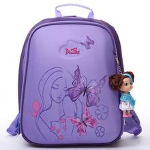 Delune niños bolsas escuela de dibujos animados de alta calidad niños niñas estudiantes niños creativos ortopédica mochila escolar mochila de viaje bolsa